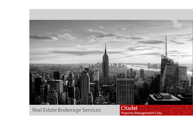 Brokerage Brochure